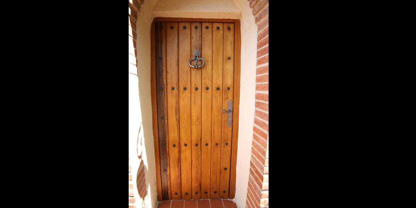 porte d entree en bois massif Porte du0027entrée bois